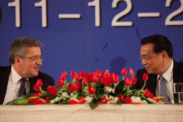 Komorowski: potrzebne zbudowanie całościowej strategii wobec Chin