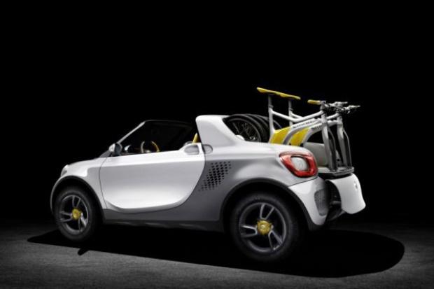 Czy smart będzie pickupem na rowery?