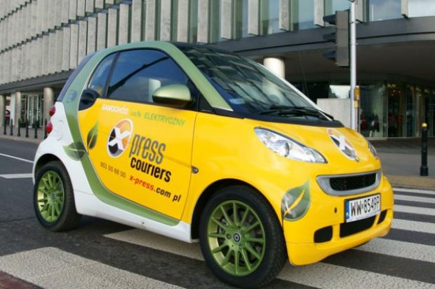 E-samochody przyszłością firm kurierskich