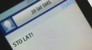 SMS ma 20 lat!