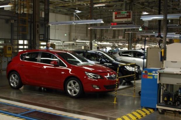 Gliwicka fabryka Opla zmniejszy produkcję