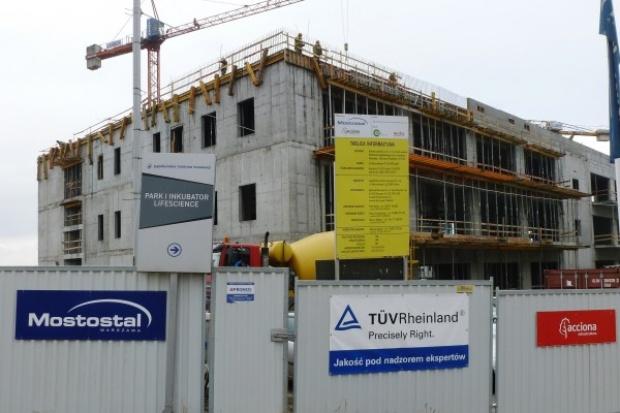 Eksperci TÜV Rheinland Polska na budowie krakowskiego Parku Life Science