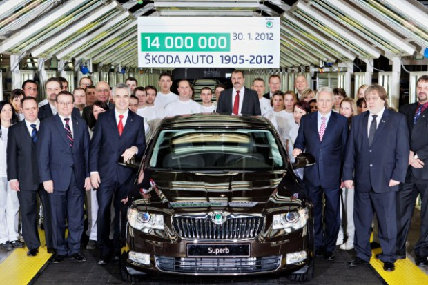14 000 000 razy Škoda
