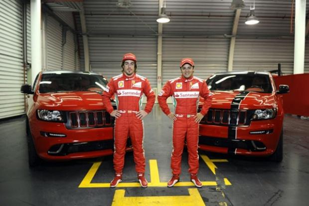 Jeep dla gwiazd Ferrari F1