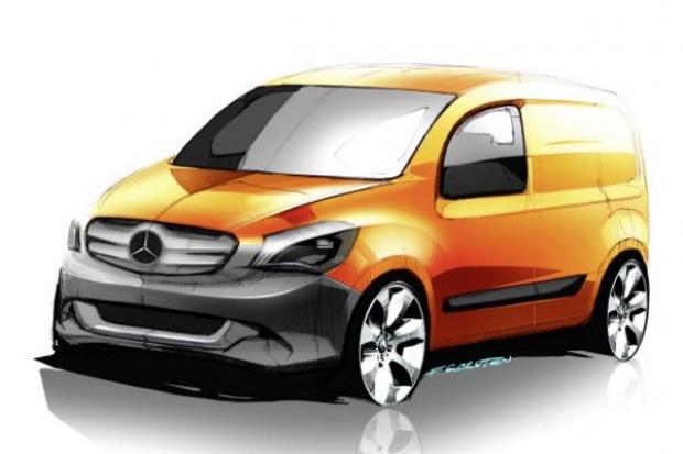 Mercedes-Benz szykuje nowego miejskiego vana