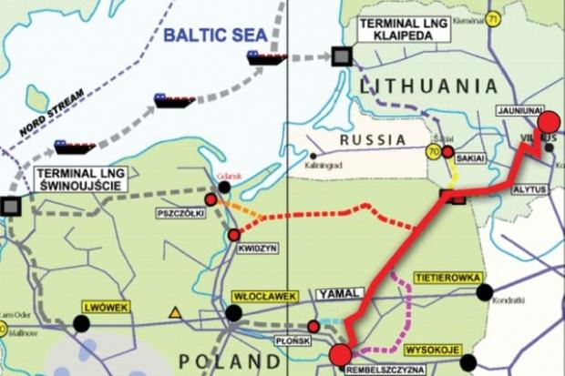 Zakończono analizę ekonomiczną budowy połączenia gazowego Polska-Litwa