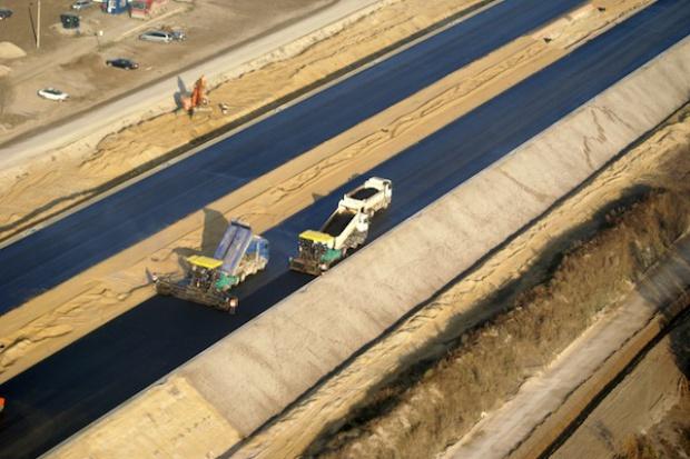 DSS: odcinek C autostrady A2 będzie przejezdny na czas