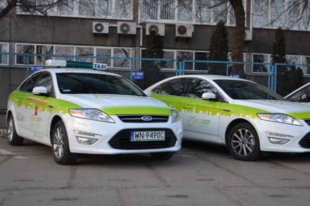 Elektryczne taxi na ulicach stolicy