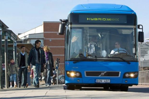 Hybrydy Volvo dla Göteborga