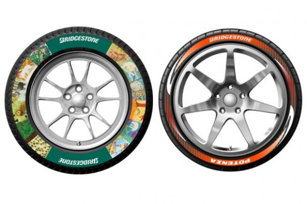 Kolorowe opony od Bridgestone