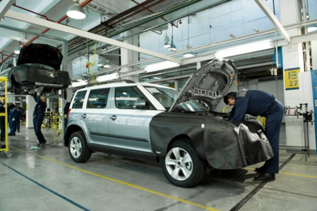 Škoda coraz silniejsza w Rosji