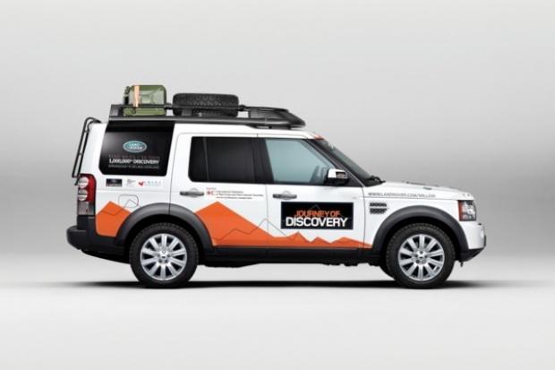 Specjalne zadanie dla milionowego Land Rovera Discovery