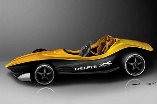 Delphi i Sbarro prezentują samochód koncepcyjny F1for3