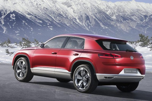 SUV (nieodległej) przyszłości wg Volkswagena