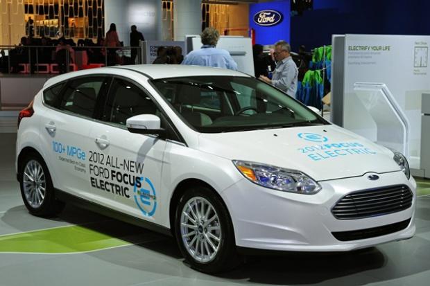 Ford: przejażdżka elektrycznym Focusem