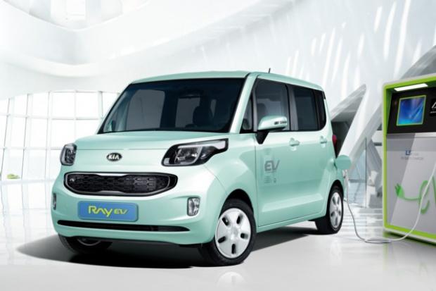 Elektryczne auto wg Kia Motors
