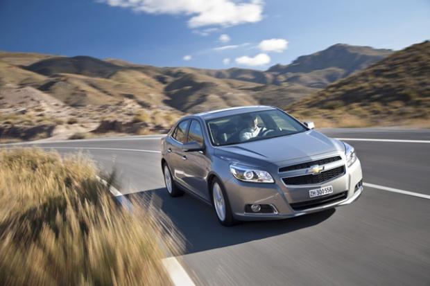 Chevrolet Malibu gotowy na wjazd do Europy