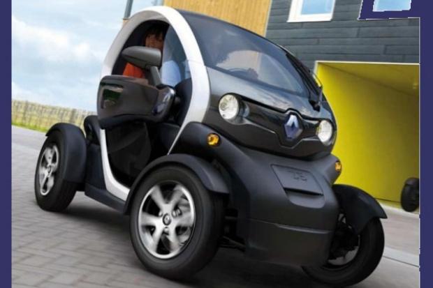 Renault Twizy - nowe spojrzenie na e-samochód