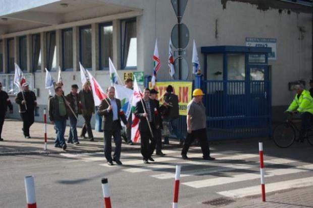 Protest w Zakładach Azotowych Puławy zawieszony