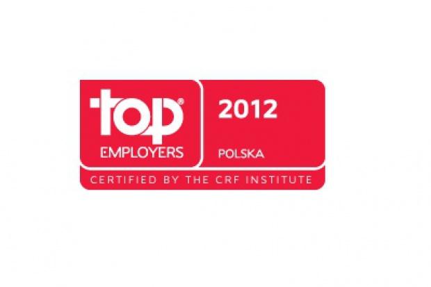 GAZ-SYSTEM S.A. nagrodzony certyfikatem Top Employers Polska 2012