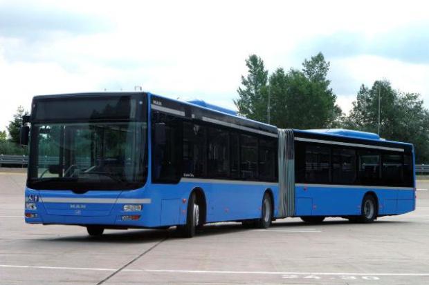 Autobusy MAN z Polski dla lotniska w Monachium
