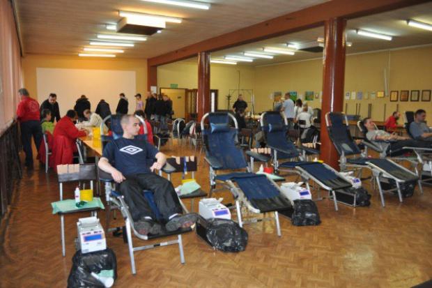 KHW: akcja krwiodawstwa w kopalniach po wypadku busa