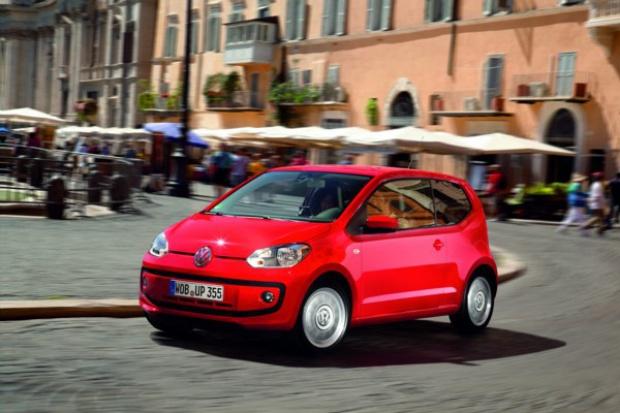 "Volkswagen up! z tytułem ""World Car of the Year 2012"""