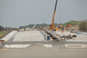 Budowa mostu na A1 wstrzymana