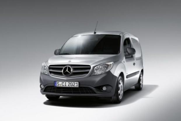 Pierwszy van Mercedesa w nowym środowisku