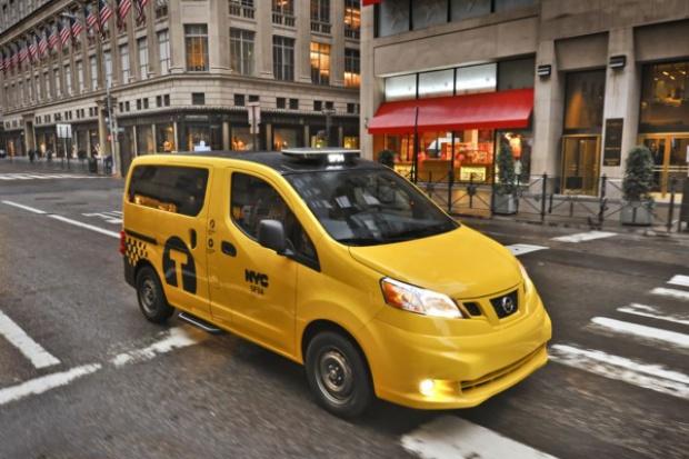 Światowy debiut taksówki przyszłości w Nowym Jorku