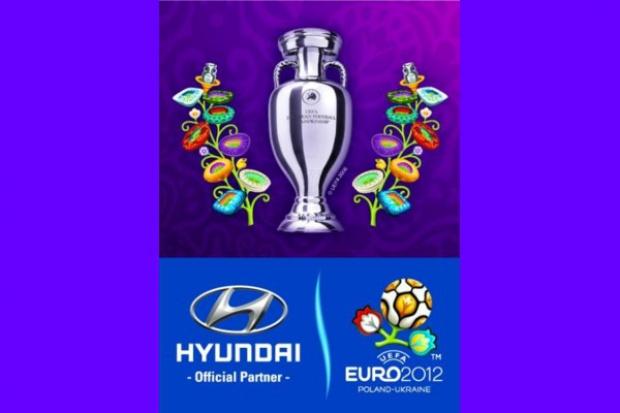 Hyundai przywiezie Puchar UEFA EURO 2012