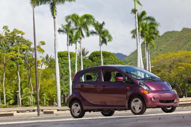 Rajska przygoda elektrycznych Mitsubishi