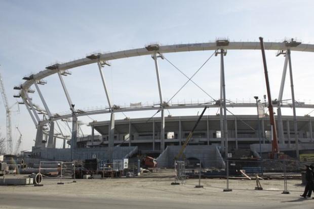 Stadion Śląski: trzeci tymczasowy termin zakończenia prac