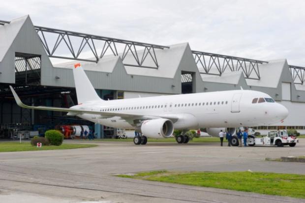 A320 z wygiętymi skrzydłami poleci do certyfikacji