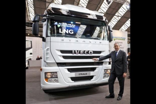 Iveco wprowadza ciężarówkę LNG Natural Power