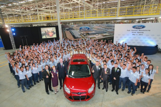 Ford coraz więcej inwestuje w Tajlandii