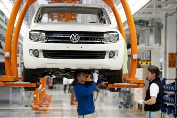 Rozpoczęcie produkcji modelu VW Amarok w Hanowerze