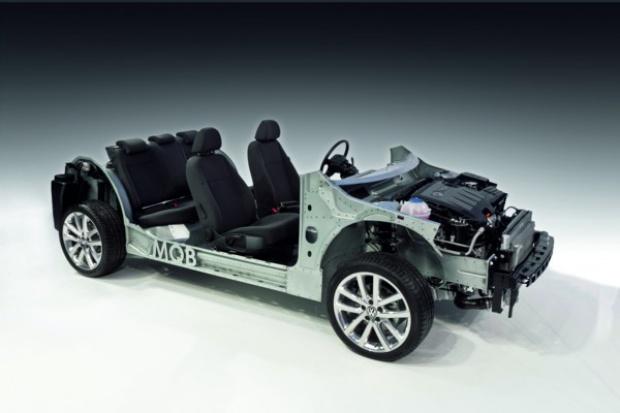 VW wprowadza nową platformę podłogową (MQB)