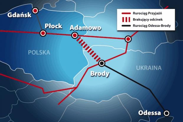 MG pracuje nad umową w sprawie Odessa-Brody-Płock