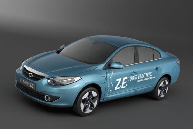 Elektryczne propozycje Renault Samsung