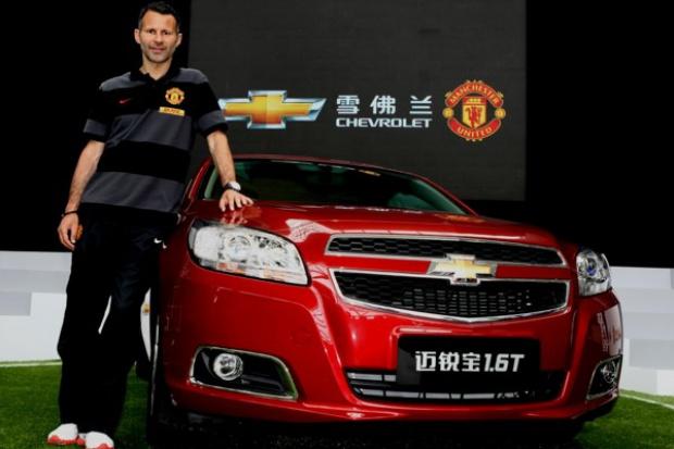 Manchester United pojedzie Chevroletem