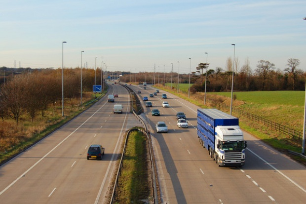 Otwarto odcinek autostrady A1 Pyrzowice-Wieszowa