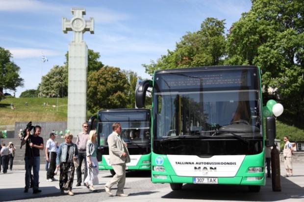 Autobusy MAN z polskich fabryk dla Tallina