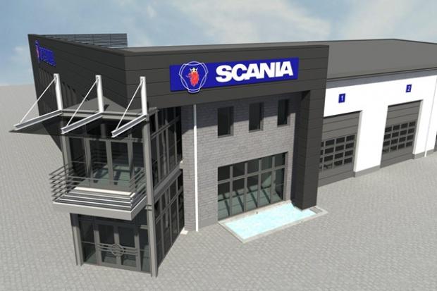 Ruszyła budowa nowego obiektu Scania pod Bydgoszczą