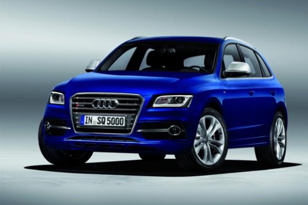 """""""Okolicznościowy"""" diesel w Audi  SQ5"""