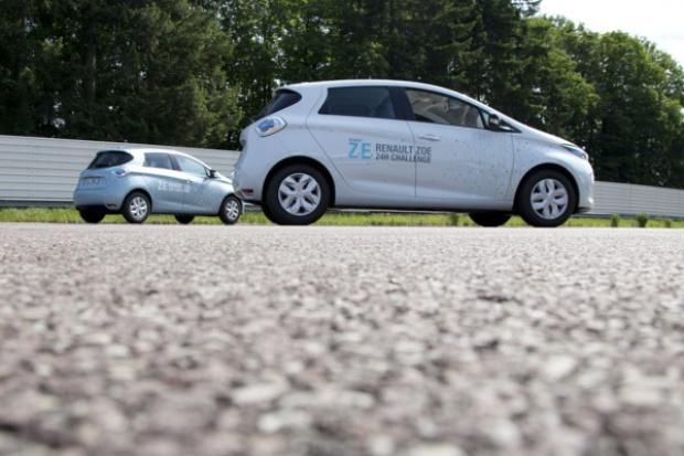 Elektryczny samochód przejechał 1618 km w 24 godziny