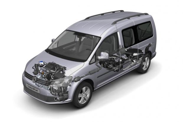 VW Caddy występuje w wersji BiFuel z LPG