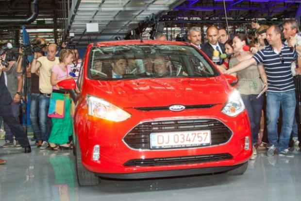 W Rumunii ruszyła produkcja Forda B-Max