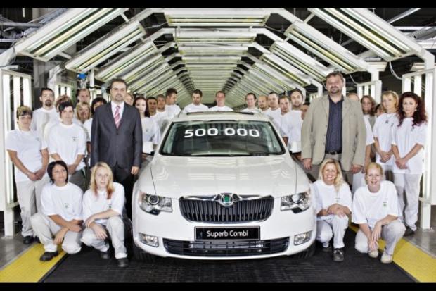 Škoda wyprodukowała pół miliona superbów