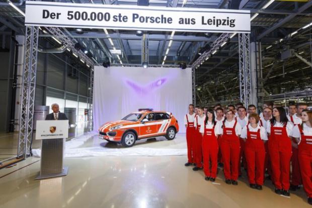 500 000. Porsche z Lipska